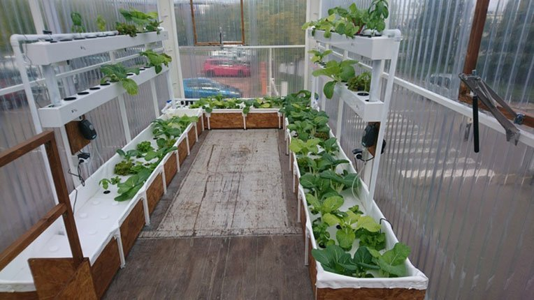 interieur ferme urbaine citizenfarm